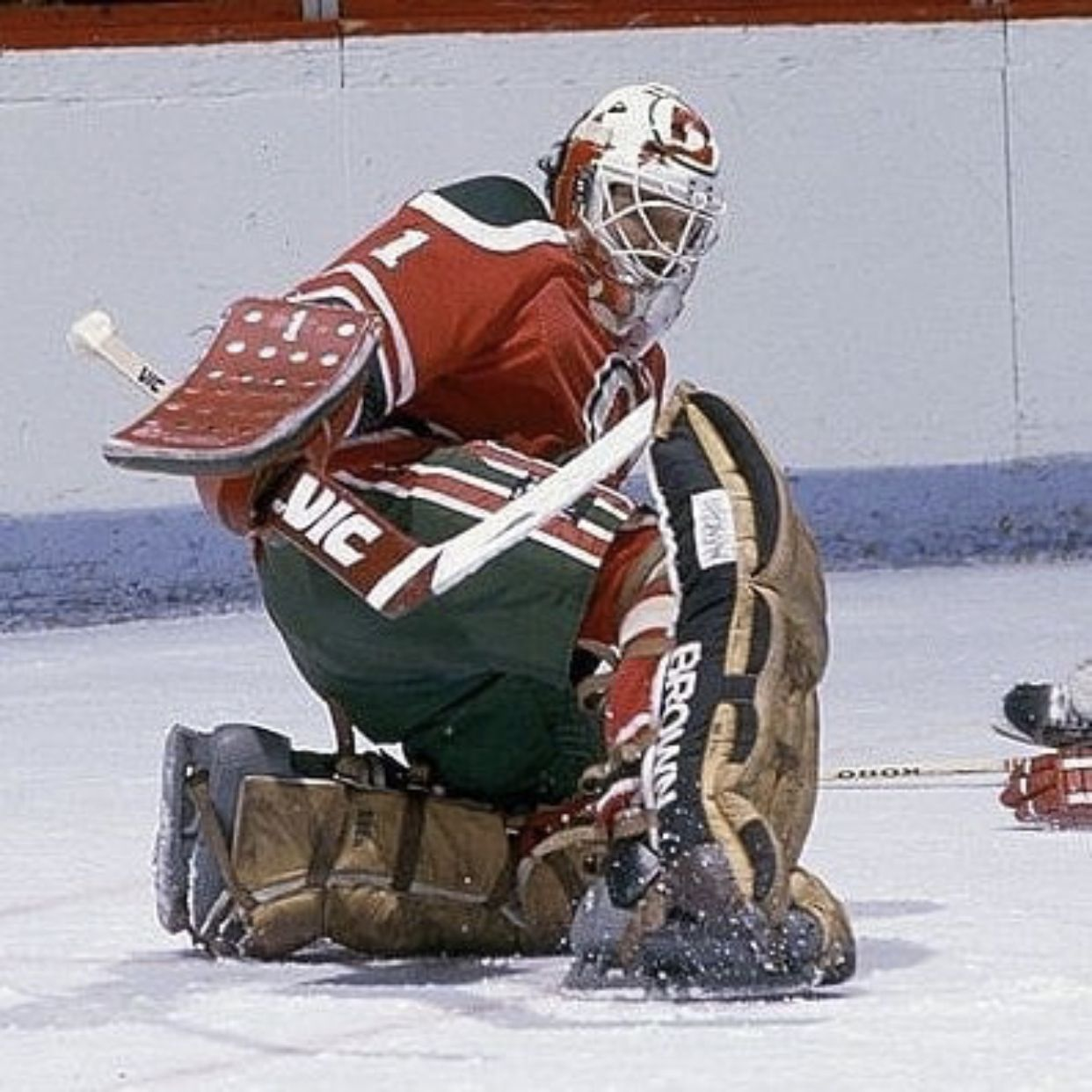 Chico Resch (With images) Hockey goalie, Hockey rules
