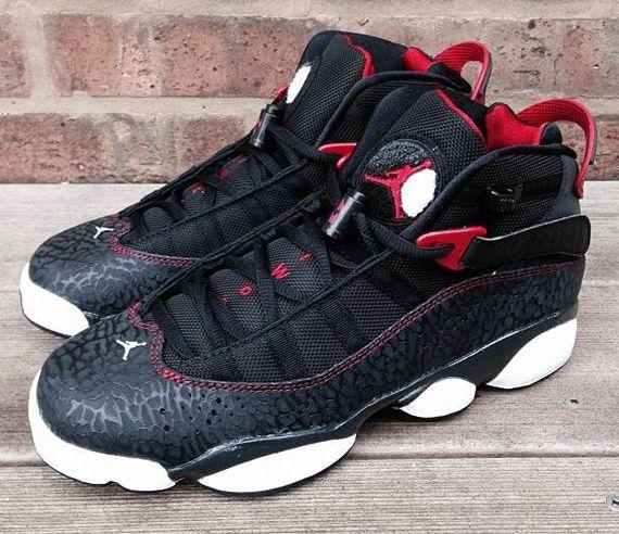 Air Jordan 6 Anillos De Las Botas De Elefante Negro salida 2015 nueva excelente precio barato De Verdad auténtico sneakernews despacho 2v9Ok5k
