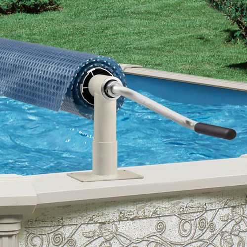 Aqua Splash Pro Above Ground Pool Solar Cover Reel System