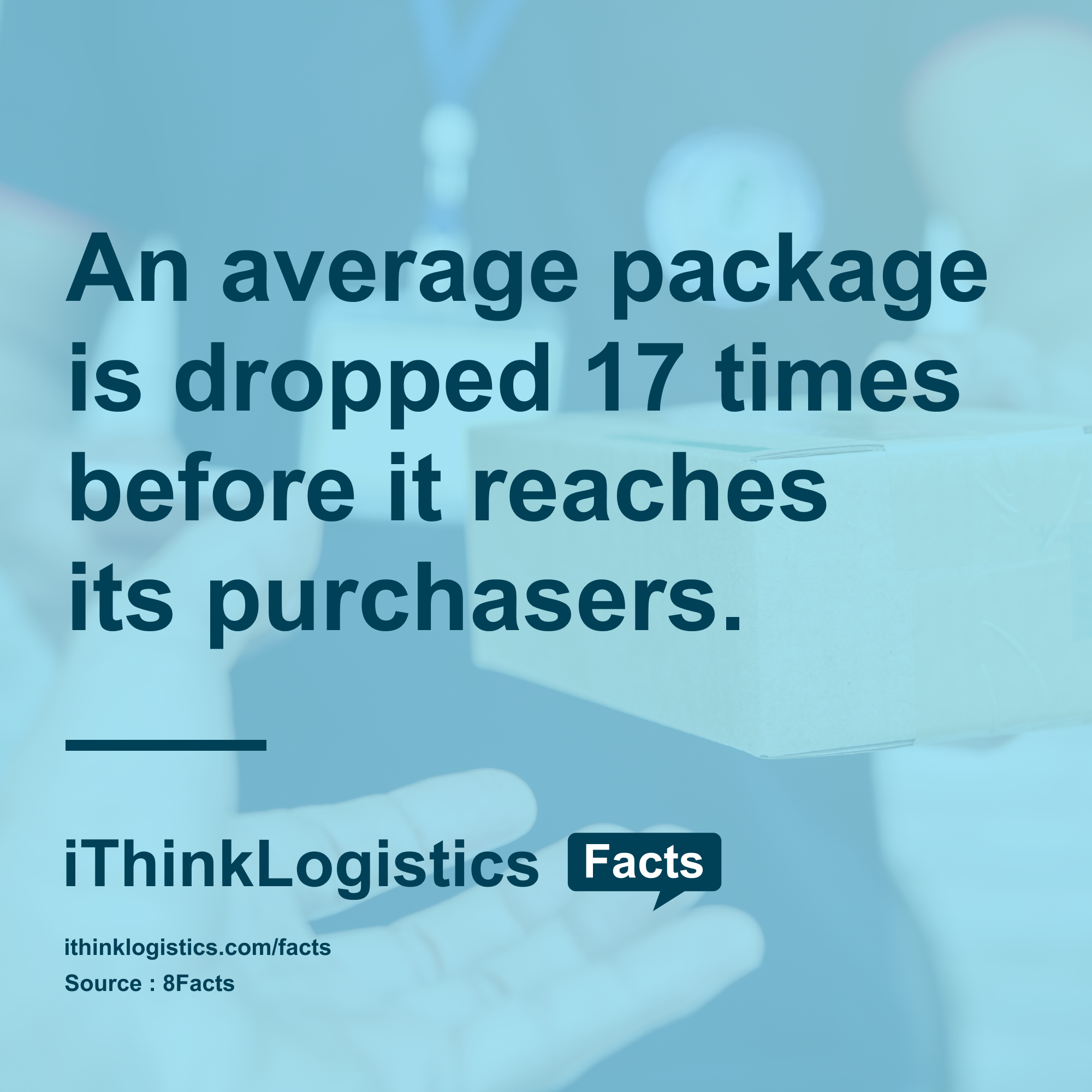 The modernday packaging ensures the parcel still reaches
