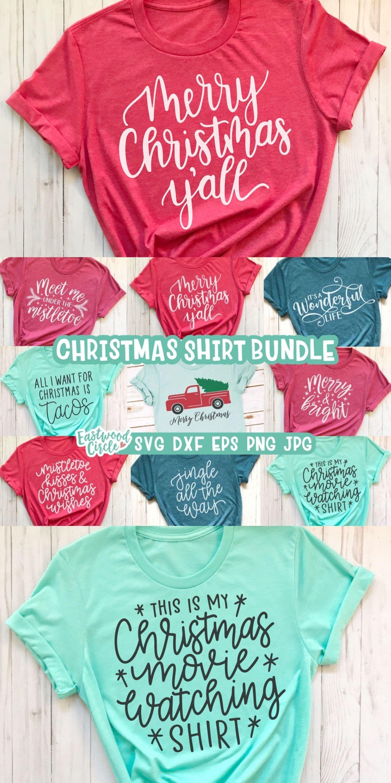 Christmas svg Bundle, Christmas Shirt svg Bundle,