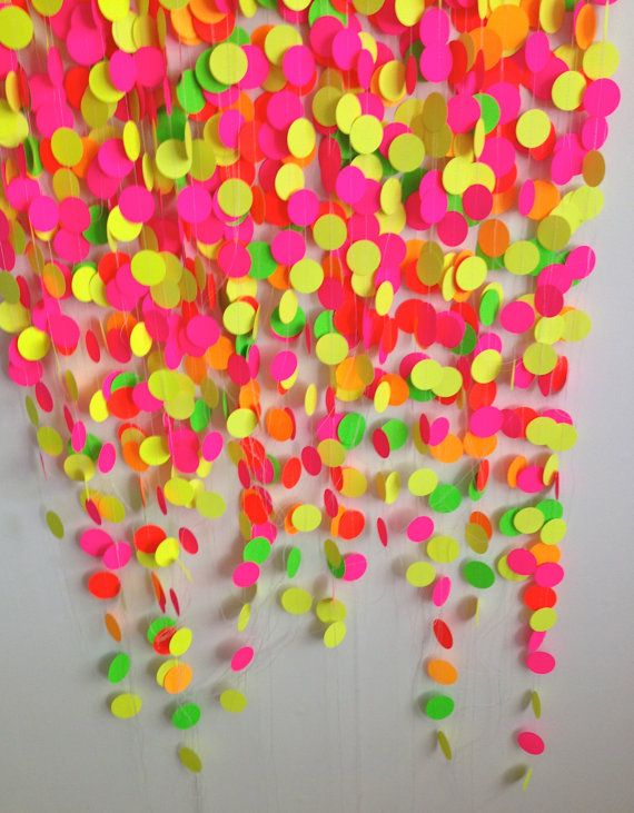 Photo Booth Backdrop Deluxe Neon Party Package By