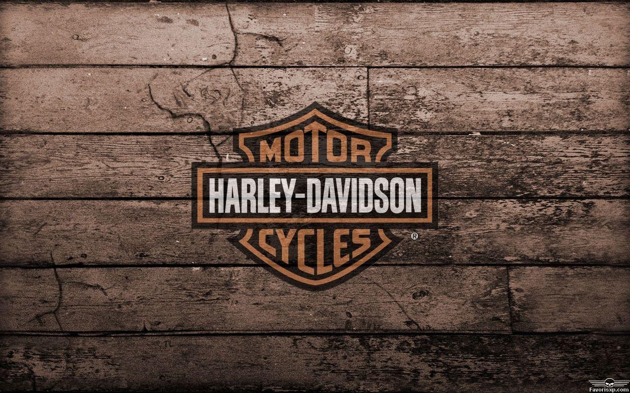 foto de Arrière-plan Harley-Davidson avec logo orange et noir 1280 x 800 ...