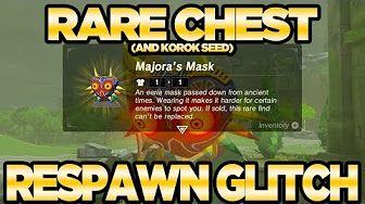 569 New Rare Chest Respawn Glitch Unlimited Korok Seeds Zelda