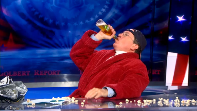 Stephen Colbert Is Taking Romney's Loss Rather Hard