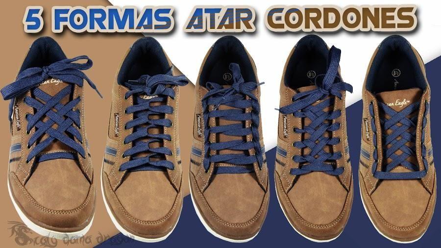 Diseños De Cordones Zapatos Los 5 Divertidos Colocar OPiXZukT