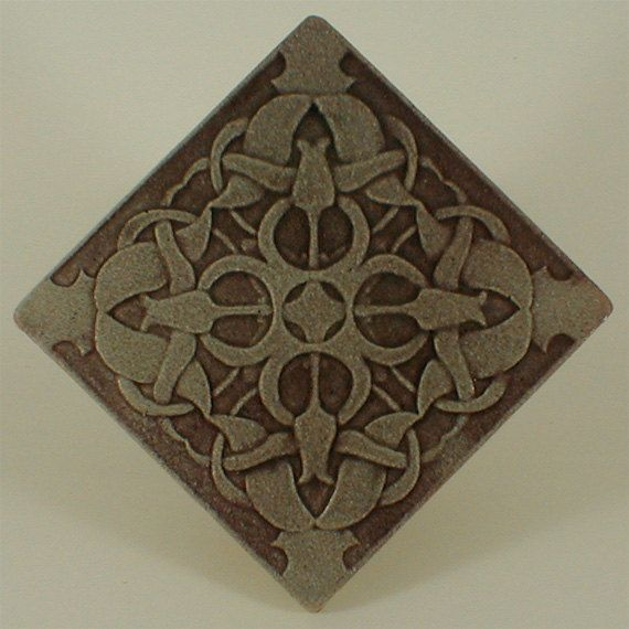 Decorative Wall Tiles Decorative Wall Tile Pamir Tulips 6 X 6 Withcampbelltileworks