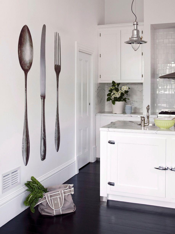 Adesivi da Parete Decorazioni Murali in Cucina | Cucine ...