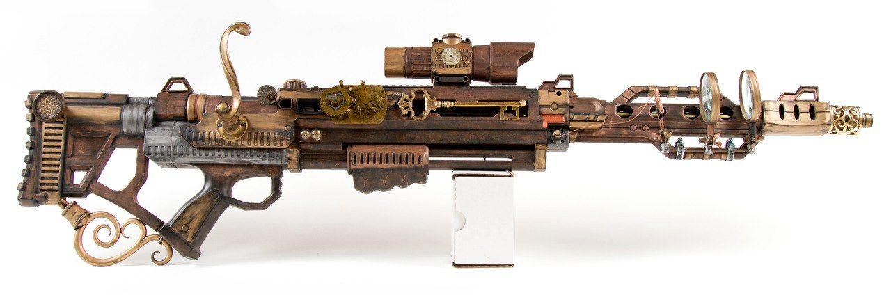 Steampunk Rifle.