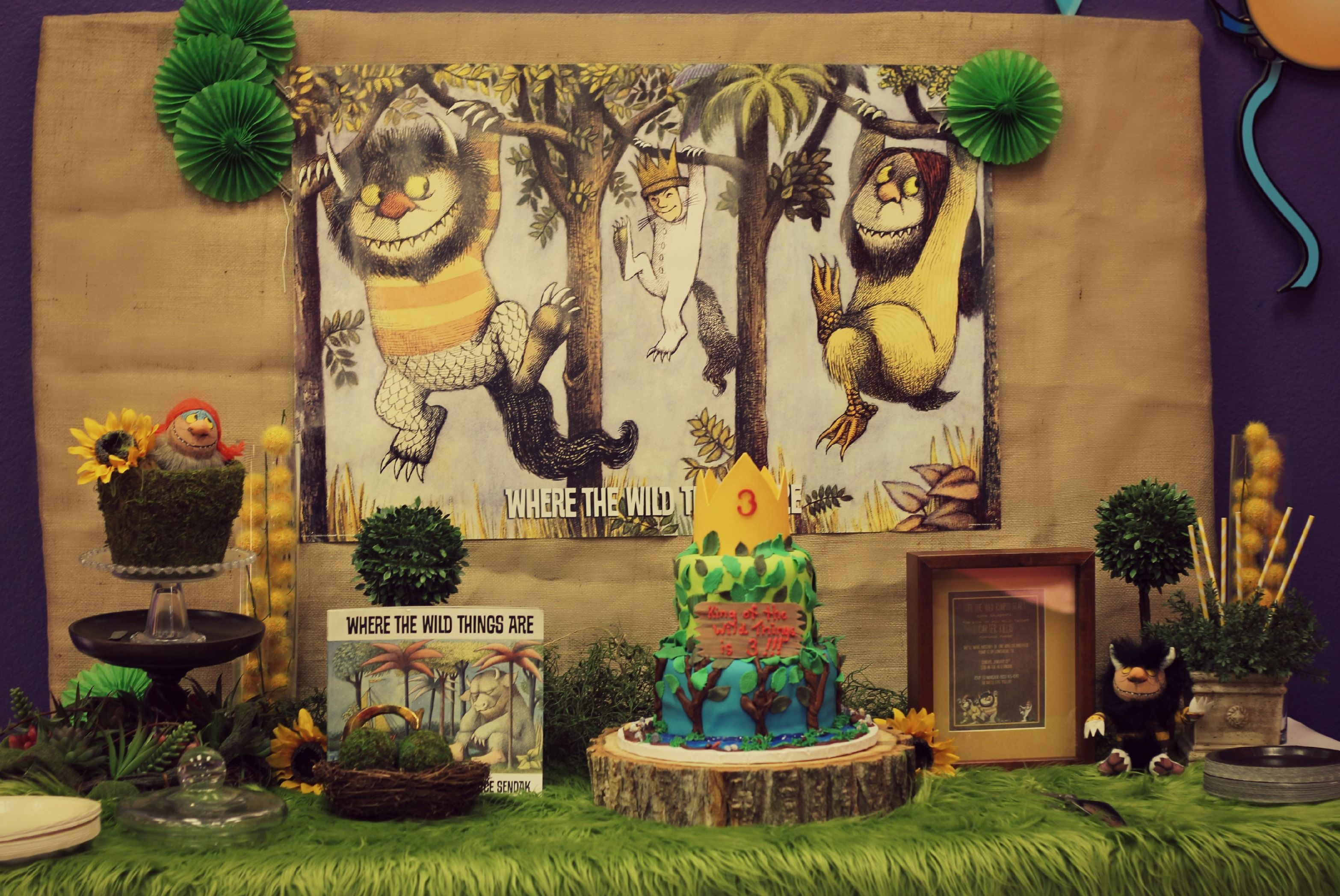 Pin by monica cabrera on children wild things party 1st