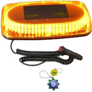 Hqrp strobe amber 240 led emergency hazard warning led mini bar hqrp strobe amber 240 led emergency hazard warning led mini bar strobe light w mozeypictures Image collections