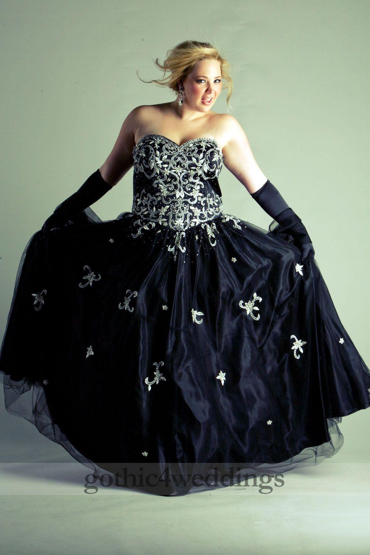 Gothic Plus Size Wedding Dress Photography | Wedding Ideas ...