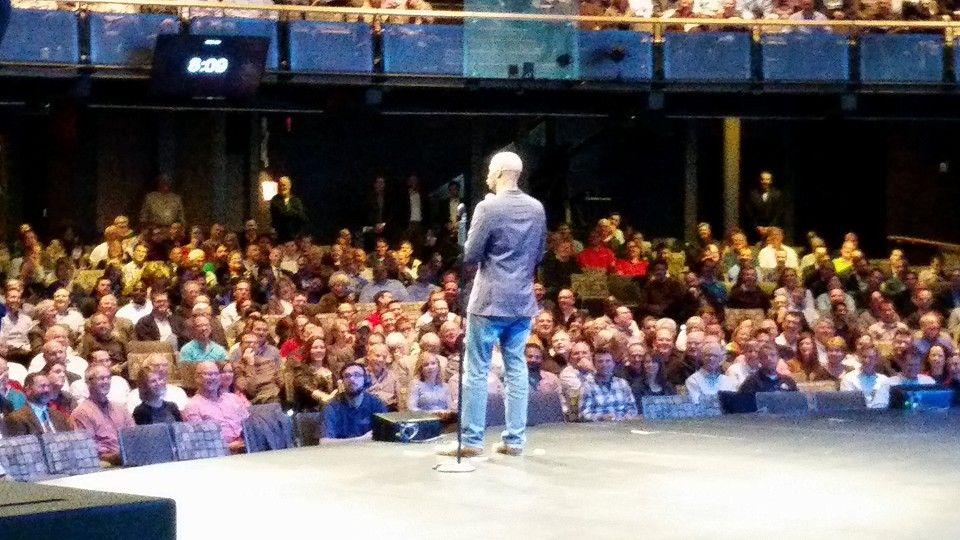 The Anatomy of a Joke...Michael Jr. speaking at America\'s Best Hope ...
