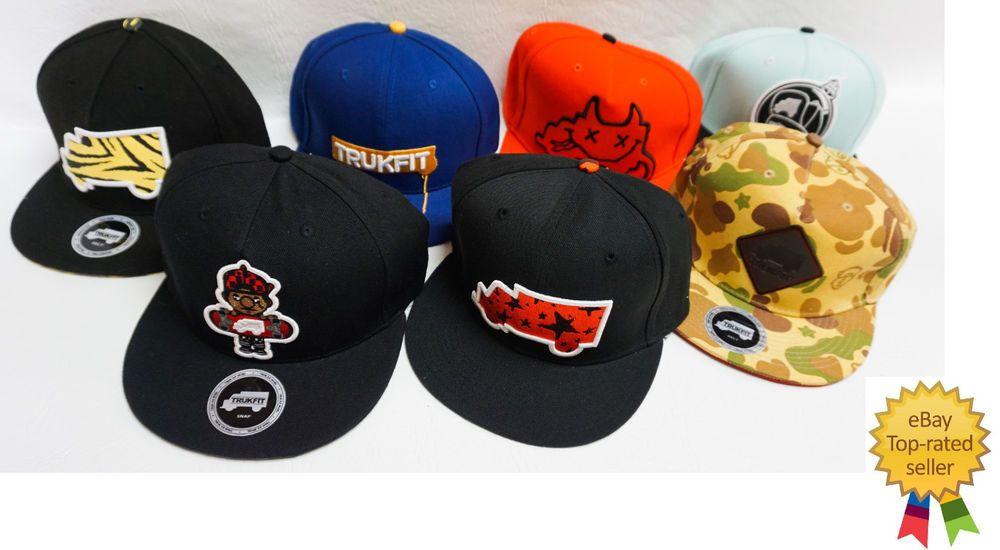 TRUKFIT mens skate Lil Wayne Skater Adjustable Baseball cap hat OS NEW   Trukfit  BaseballCap ead7281f785