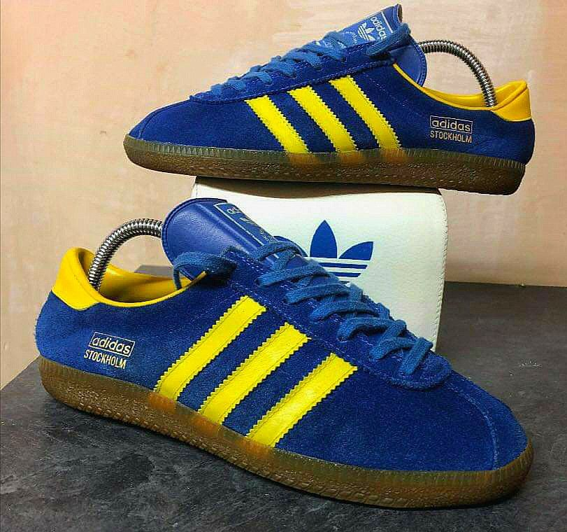 buy online 296a1 70aa8 Vintage smooth tongue Stockholm in lovely condition, courtesy of WayneT  Adidas Og, Adidas Sneakers