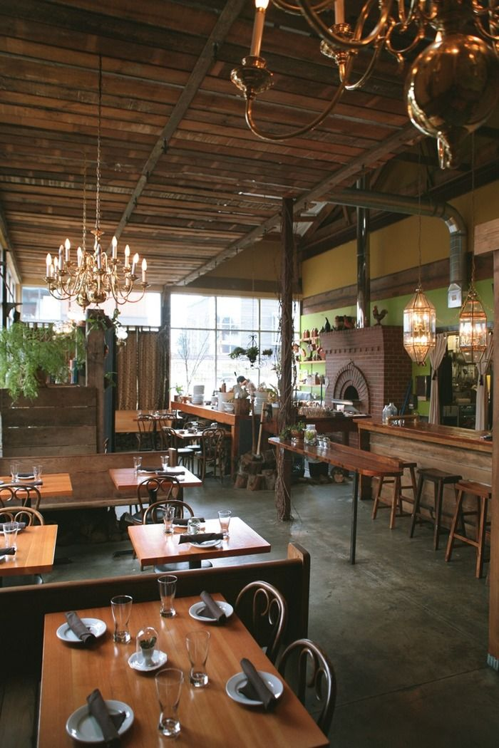 Ned ludd a small wood fired craft kitchen in portland