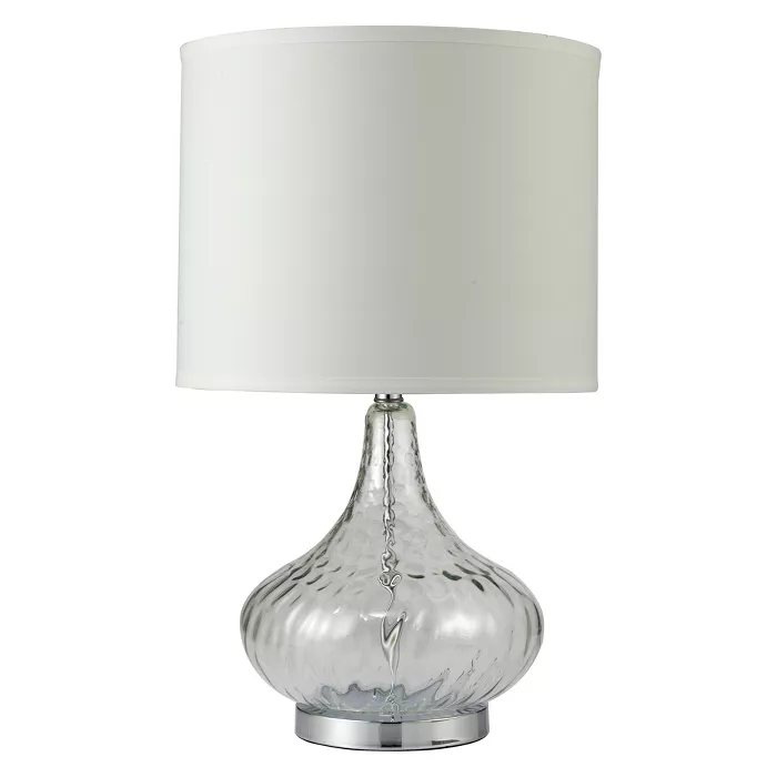 24 5 Courtney Fluted Table Lamp Ore International Lamp Table Lamp Energy Efficient Light Bulbs