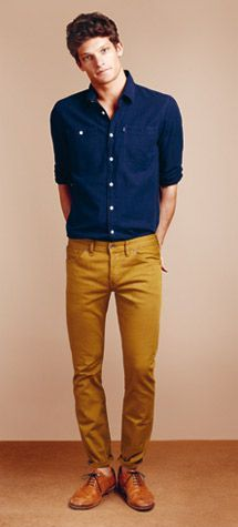 mustard jeans men - Google Search | Men's clothing | Pinterest ...