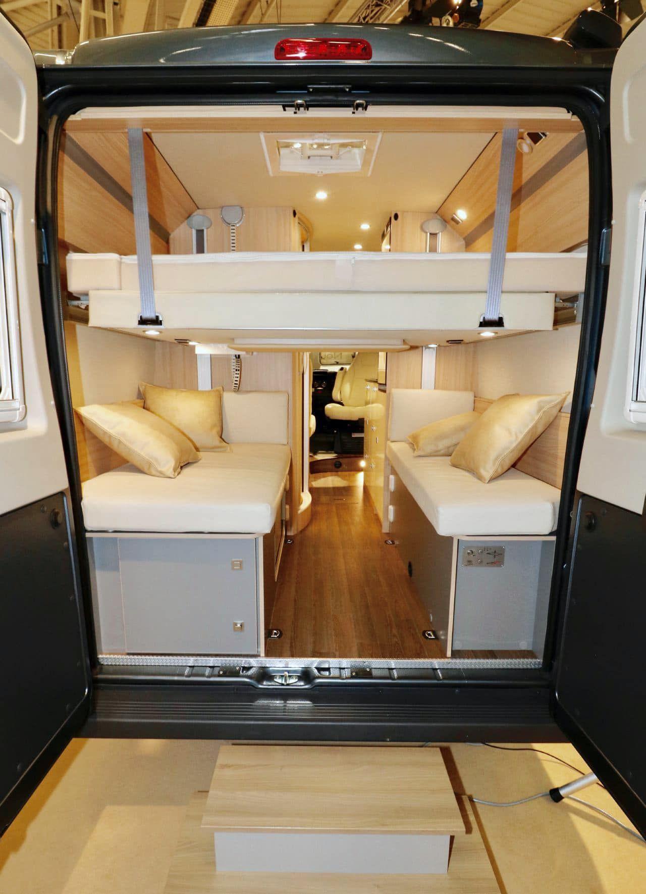 etonnant b rstner city car c601 van lit de pavillon. Black Bedroom Furniture Sets. Home Design Ideas
