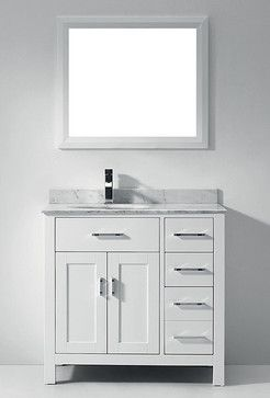 White Bathroom Vanities And Sink Consoles Miami For Bathrooms