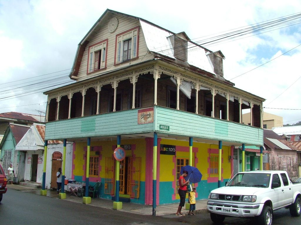 Traditional architecture st lucia miscellaneous for Traditional american architecture