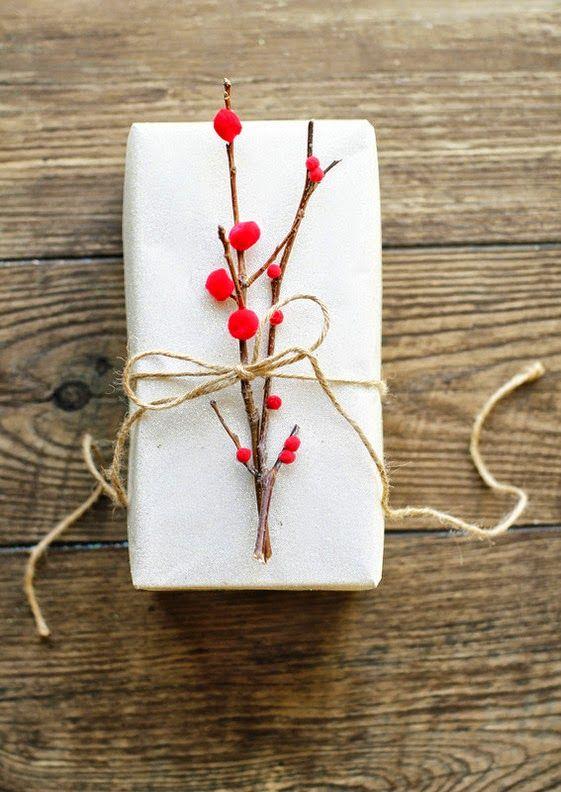 Cómo envolver un regalo sin papel de regalo Pinterest