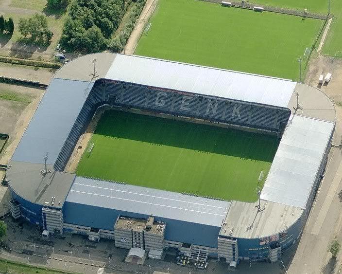 Cristal Arena Krc Genk Football Stadiums Sports Stadium Soccer Stadium
