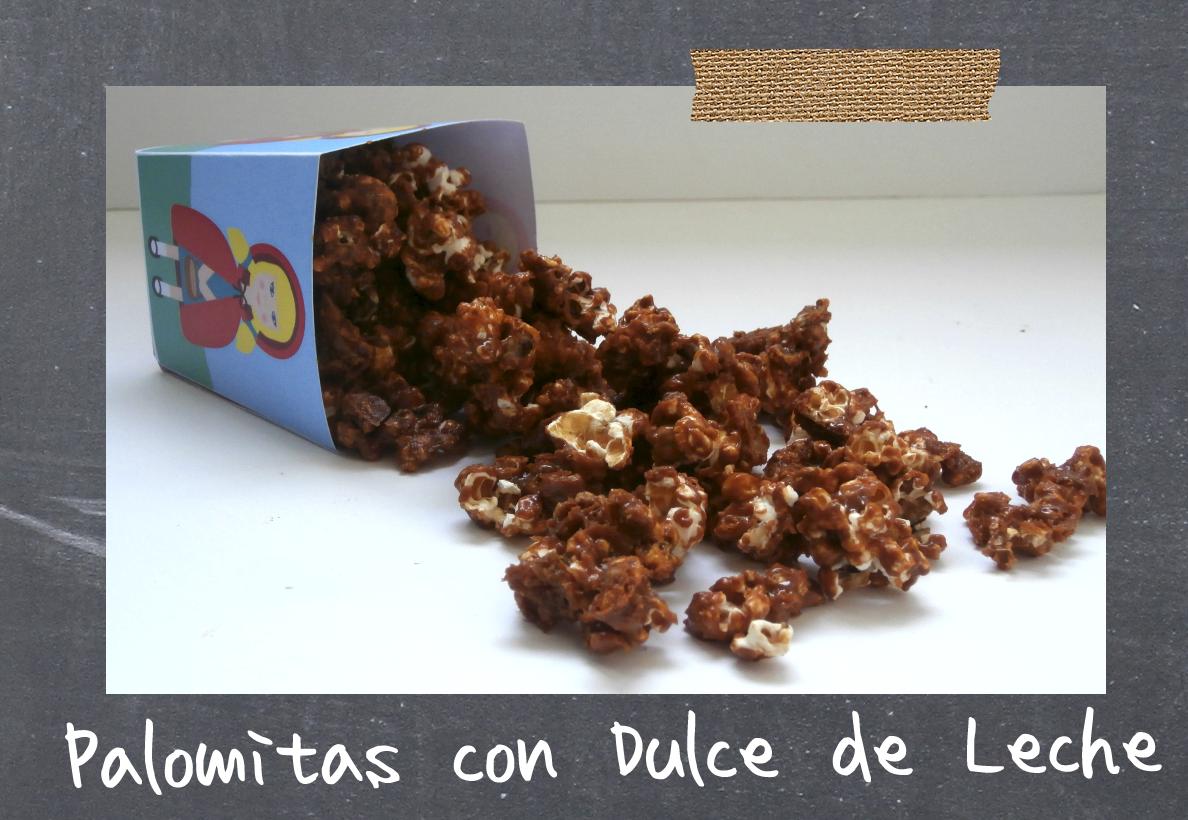 Tu Cocina Te Llama: Palomitas con Dulce de Leche Reto Alfabeto Dulce ...