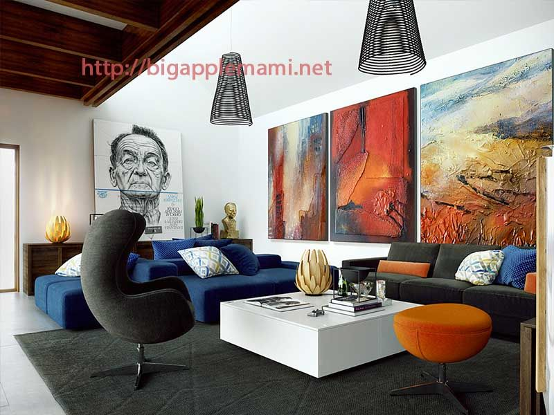 Nice Large Wall Decorations Living Room Desain Interior Interior Mebel