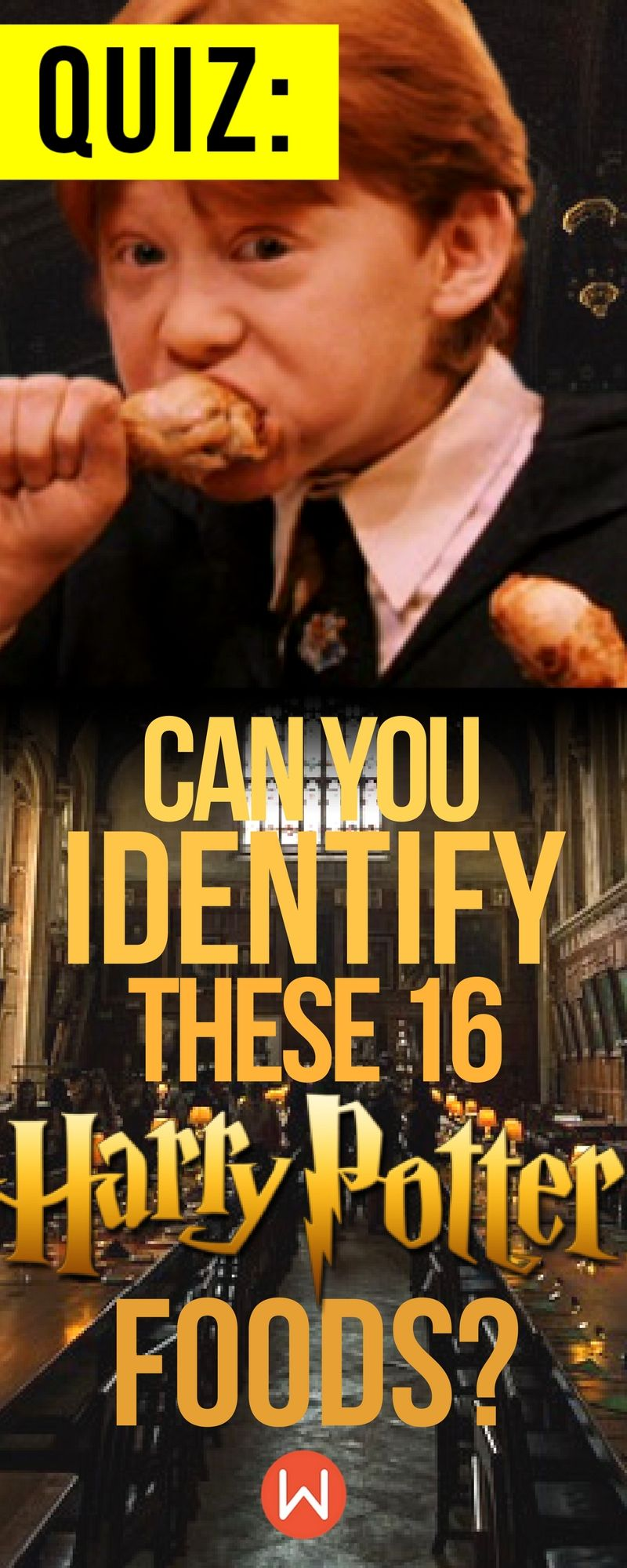 Quiz: Can You Identify These 16 Harry Potter Foods? | Harry