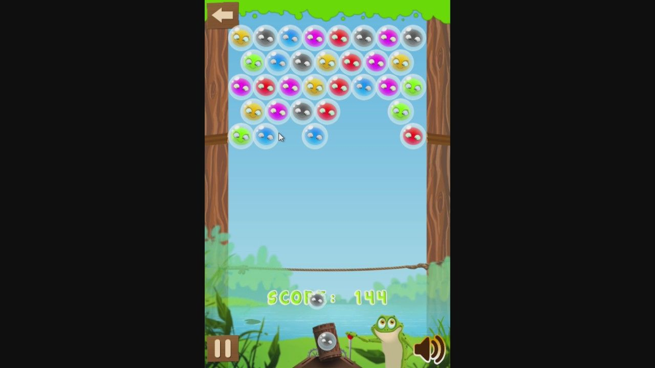 Frog Bubble Match Help The Frog Match All The Bubbles Bubbles Games To Play Cute Little Kittens