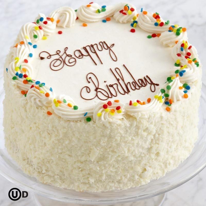 Coconut Cake Happy Birthday Happy Birthday Cakes Special
