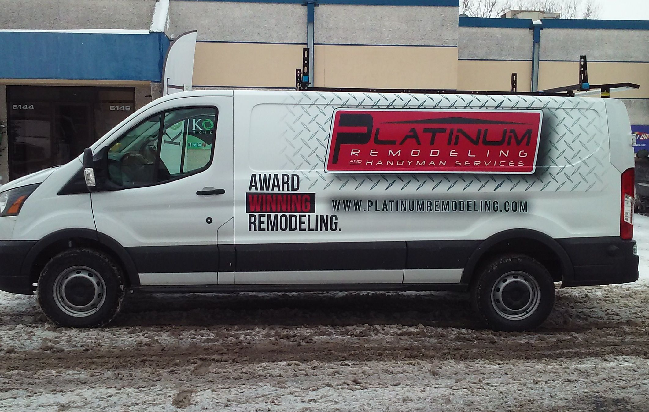 Award Winning Vehicle Wrap Too With Images Business Signage