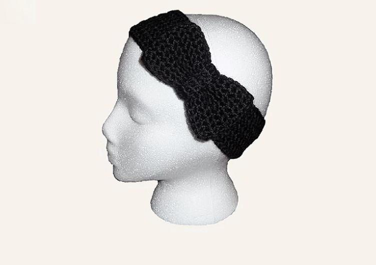 Crochet Bow Ear Warmer Knit Headband Gift under 20 Choose Color ...