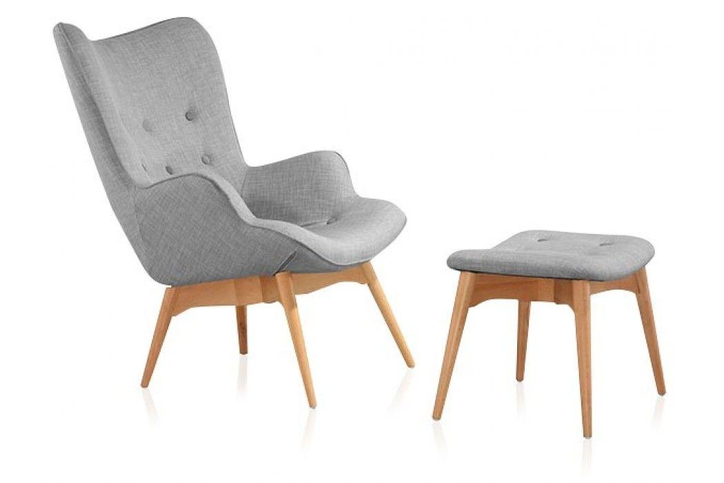 Kori Lounge Chair Grey Modani Furniture Mid Century