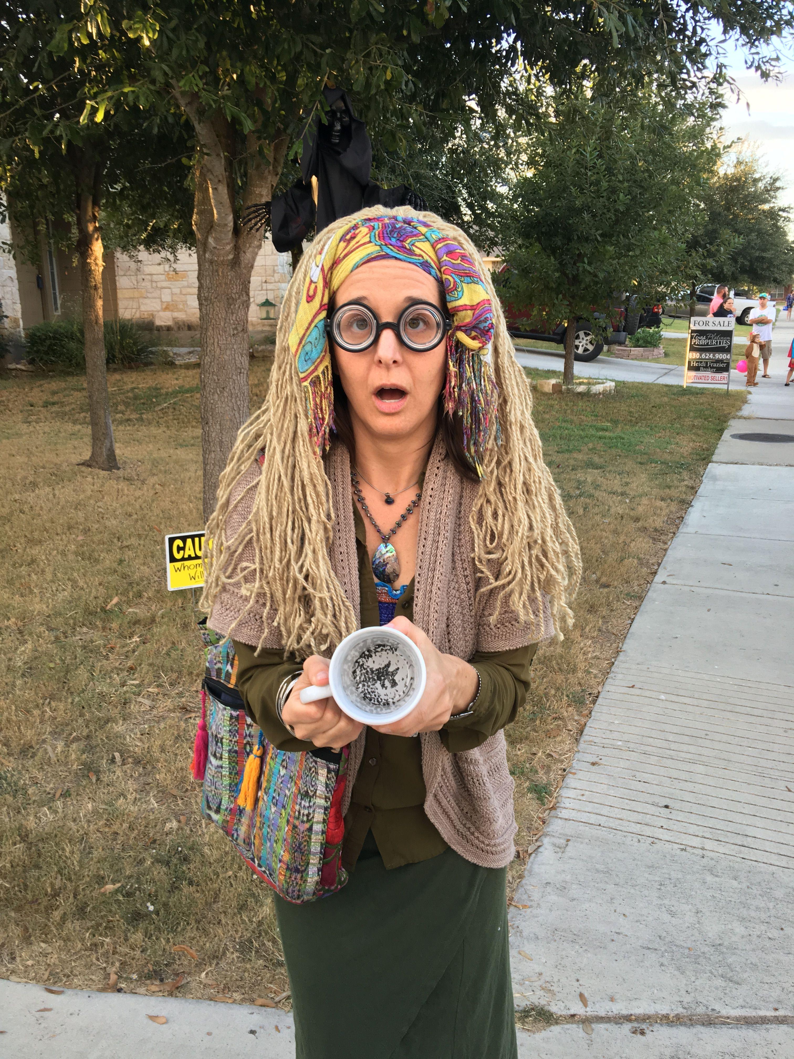 Professor Trelawney Costume Harry Potter Halloween Costumes Harry Potter Costume Diy Halloween Costumes For Teens