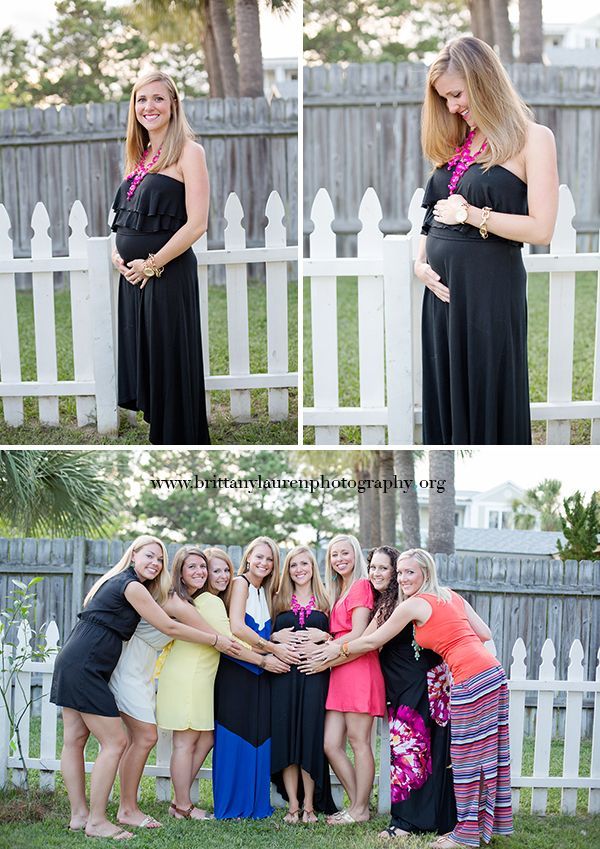 Gorgeous Maternity Pictures With Friends Brittany Lauren