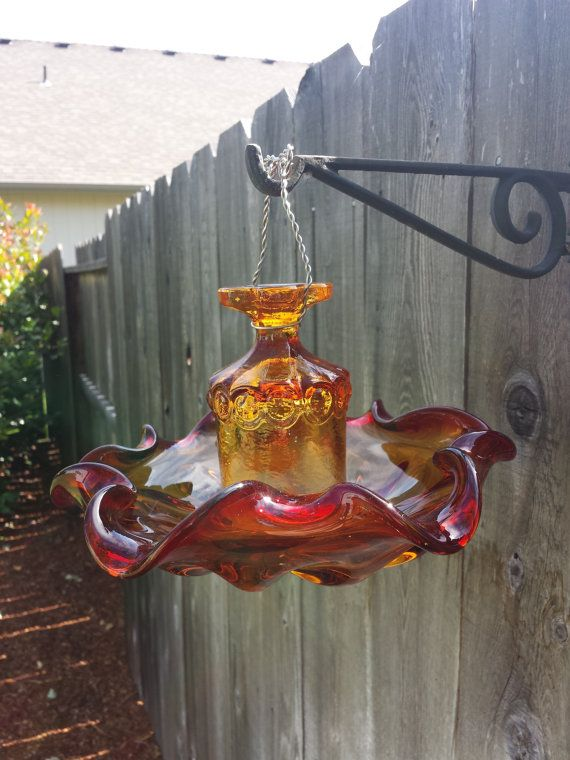 Orange amber and red depression glass by SingleMommyMadness