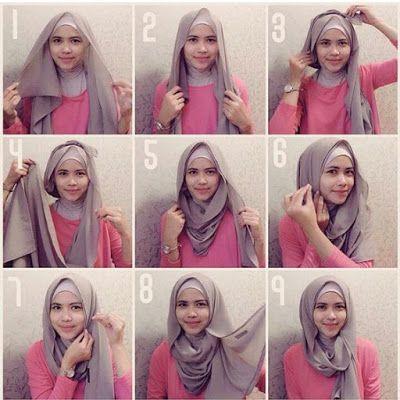 Tutorial Hijab Segi Empat Pakai Kacamata Id Lif Co Id