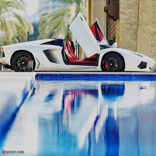 Aventador Roadster Luxury Lifestyle Rich Life Cars Lamborghini Pool Swimming Houses Used Luxury Cars Fancy Cars Best Used Luxury Cars