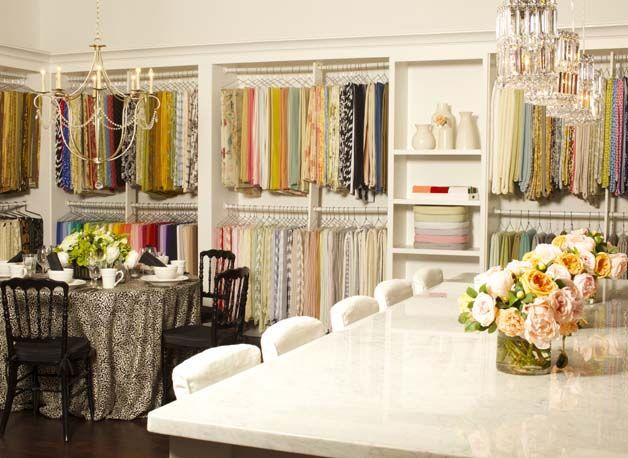 Dallas Showroom La Tavola Fine Linen Home Office