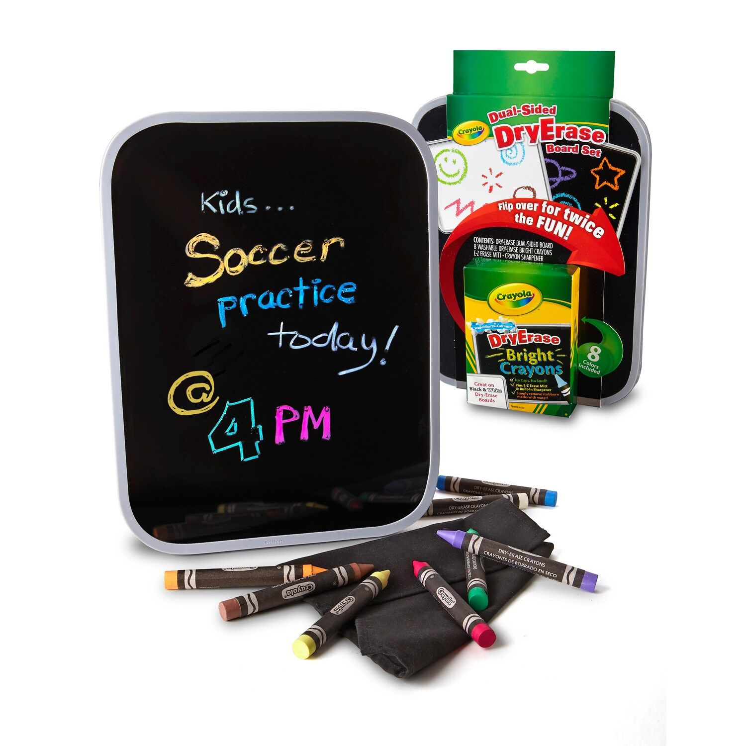 Crayola DualSided Dry Erase Board Set