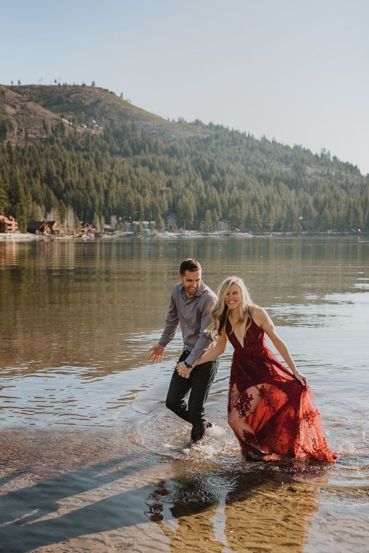 Truckee Donner State Park Adventurous Engagement Meg S Marvels Photography In 2020 Engagement Poses State Parks California Engagement