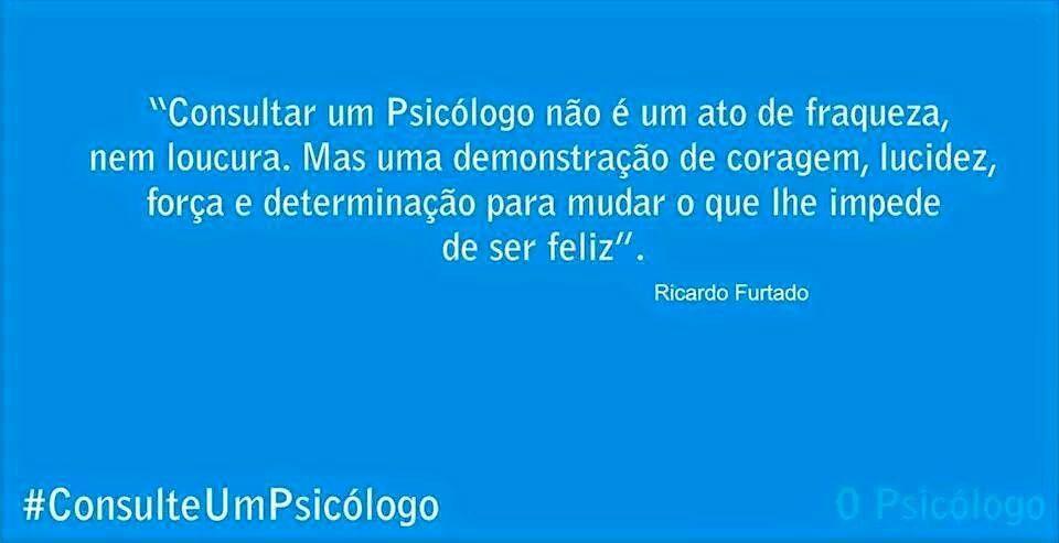 Consulte um psicólogo