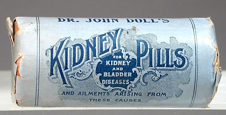 Dr john dolls kidney pills weak bladder arthritis