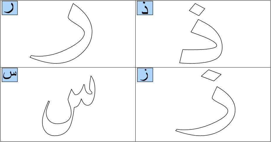 Huruf Hijaiyah Latihan1 Arabic Alphabet Lettering Alphabet