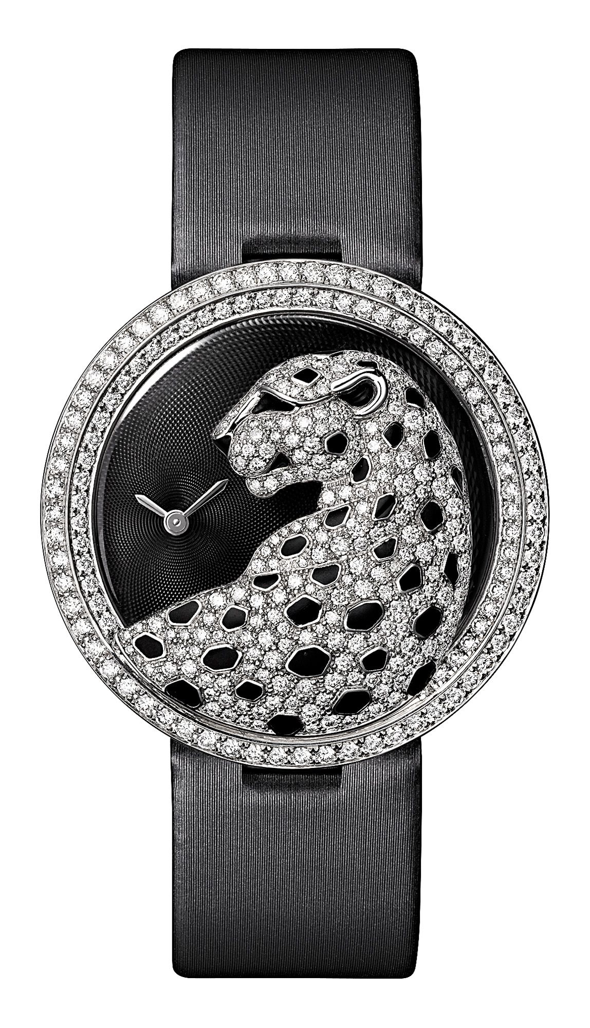 Cartier Panthere Watch brooch diamond panther Pandora Jewelry d3533455543