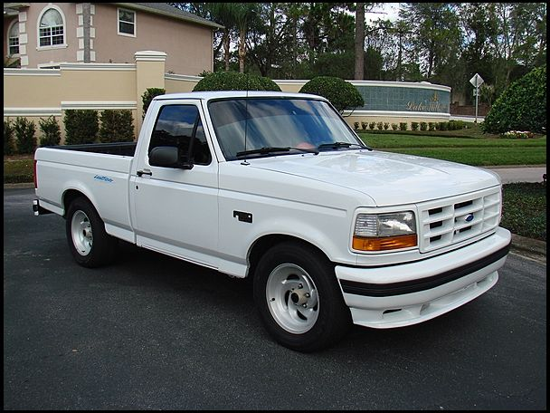 1995 ford lightning svt pickup 351 cleveland 5 8l v8 square body ford pinterest ford. Black Bedroom Furniture Sets. Home Design Ideas