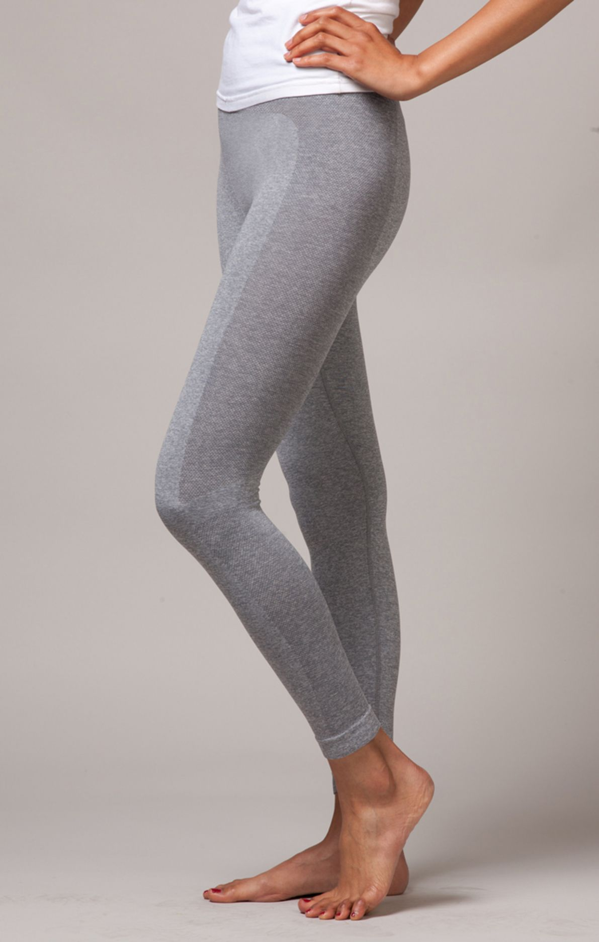 4a3fb06f35aea8 BLISS LEGGING gray legging, seamless leggings, hot yoga legging, fitness,  running, two tone #yoga #activewear #leggings ferastyle.com