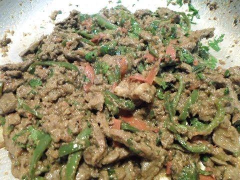 طريقة عمل الكبدة الاسكندرانى من سنة أولى مطبخ Food Green Beans Cooking